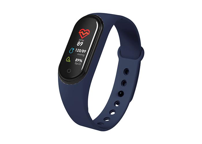 Everest Ever Fit W16 Android/IOS Smart Watch Vücut Isı Göstergeli Mavi Akıllı Bileklik  Saat