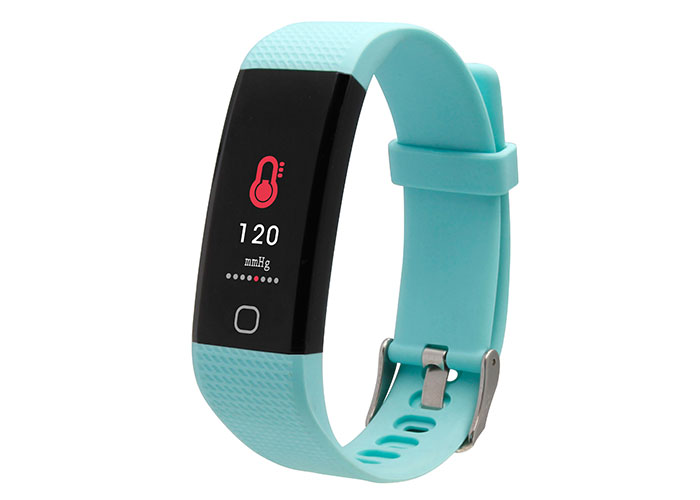 Everest FIT MATE W24 Bluetooth Smart Blue Wristband monitors Blood Pressure  Calori
