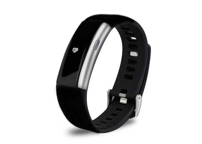 Everest FIT MATE W27 Bluetooth Smart Silver Smart Wristband
