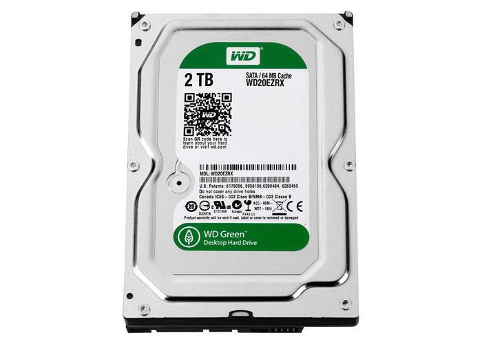 """Western Digital WD20EZRX-FR 2TB 3.5"""" SATA HDD"""