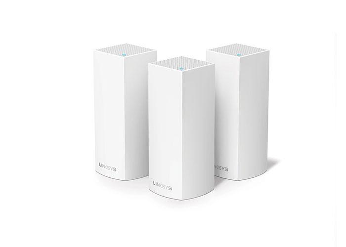 Linksys WHW0303-EU 2.4GHz / 5GHz Tri-Band AC2200 3lü Kablosuz AC Router