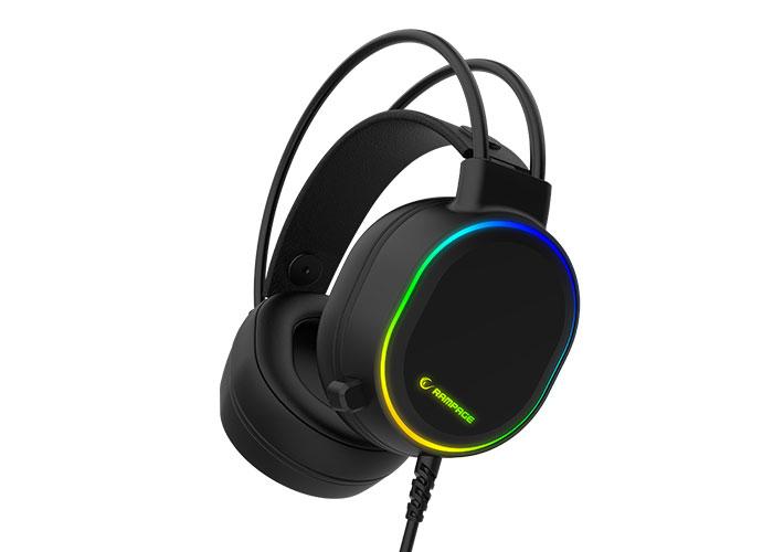 Rampage ROGUE Siyah USB Gaming Mikrofonlu Kulaklık