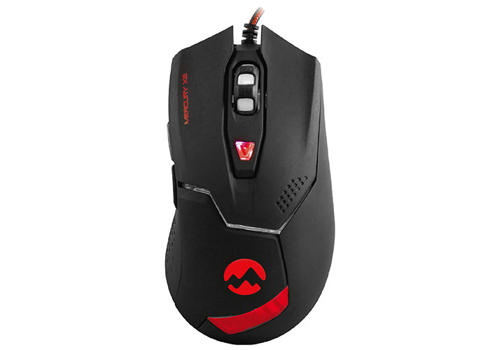 Everest Mercury X8 Usb Siyah 6D Optik Oyun Mouse