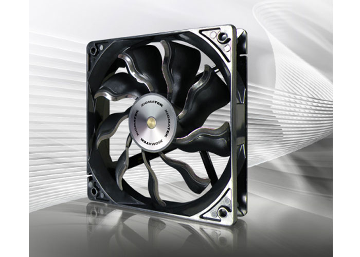 Xigmatek XAF-F1251 120 * 120 * 25mm Black Case Fan