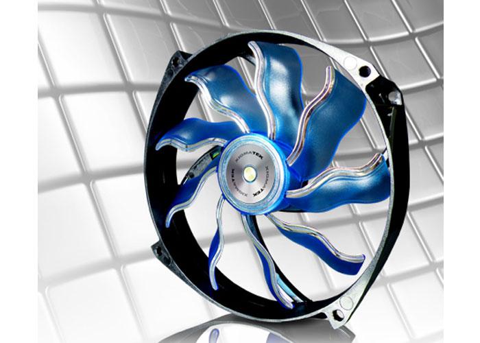 Xigmatek XAF-F1456 140*140*25mm Mavi Işıklı Kasa Fanı