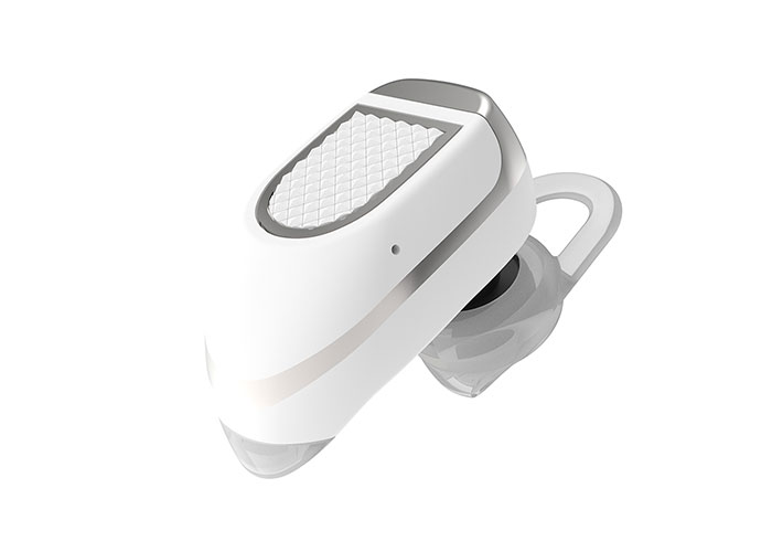 Hytech XBK40 Mobile Phone Compatible Bluetooth In-Ear White Headset