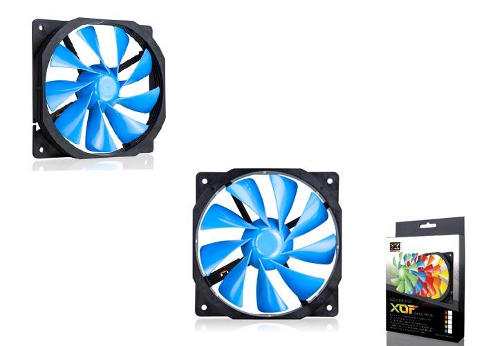 Xigmatek XOF-F1253 120*120*25mm Mavi Kasa Fanı
