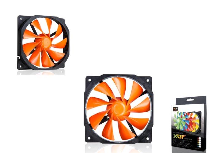 Xigmatek XOF-F1255 120 * 120 * 25mm Orange Case Fan