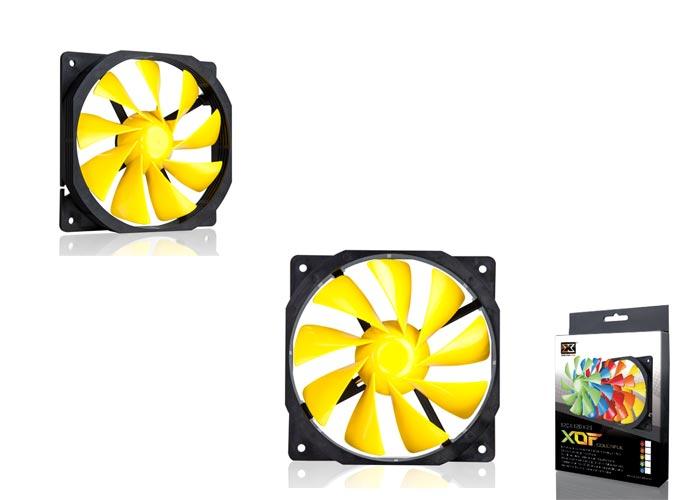 Xigmatek XOF-F1256 120*120*25mm Sarı Kasa Fanı