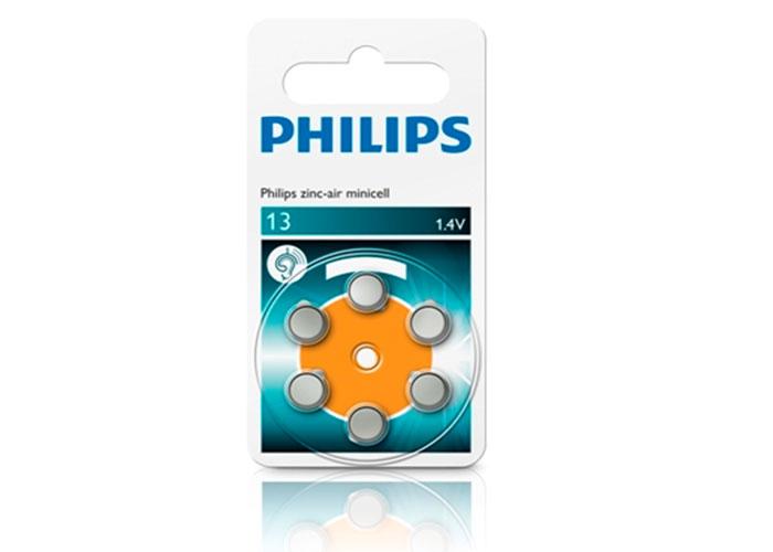 Philips ZA13B6A/10 Minicell Çinko 13 1.4V 6lı Pil