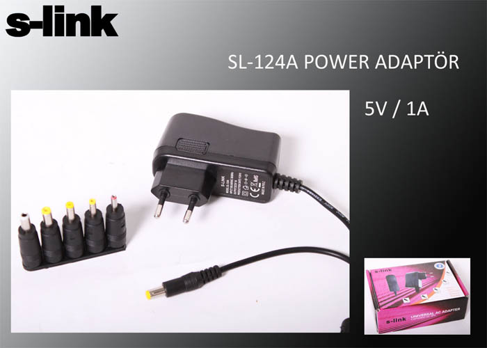 S-LINK SL-124A 5V/1A POWER ADAPTER