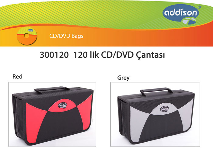 Addison 300120 120 Lik Cd Çantası