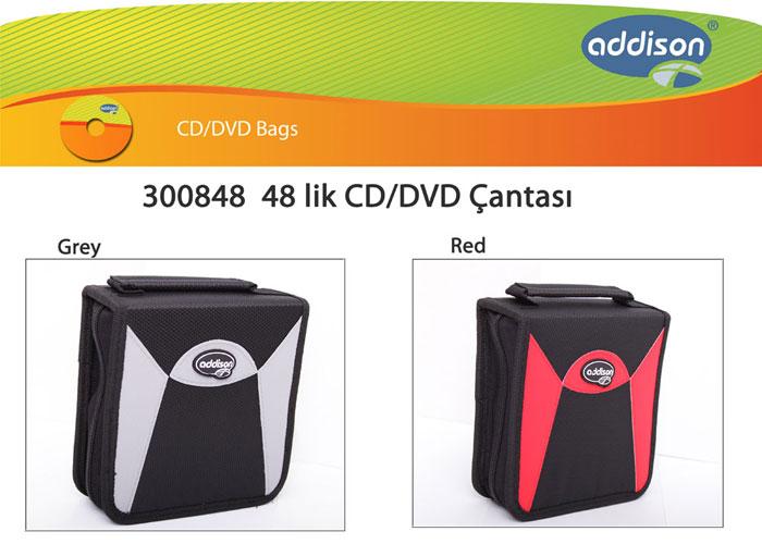 Addison 300848 48 Lik Cd Çantası