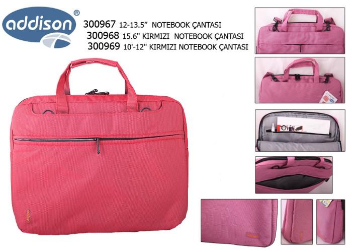Addison 300969 10-12 Kırmızı Bilgisayar Netbook Çantası