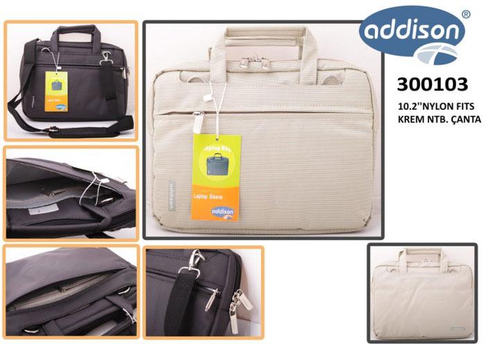 Addison 300103 10.2 Krem Naylon Fits Bilgisayar Netbook Çantası
