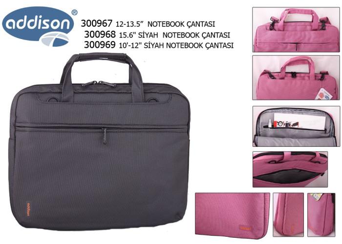 Addison 300968 15.6 Siyah Bilgisayar Notebook Çantası
