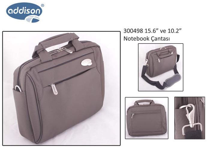 Addison 300498 15.6 Gri Bilgisayar Notebook Çantası