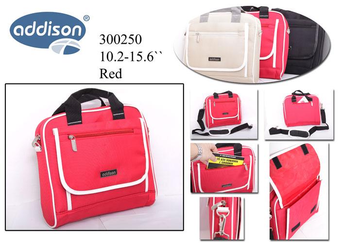 """Addison 300250 15.6"""" Kırmızı Bilgisayar Notebook Çantası"""