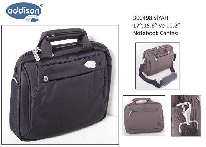 Addison 300498 15.6 Siyah Bilgisayar Notebook Çantası