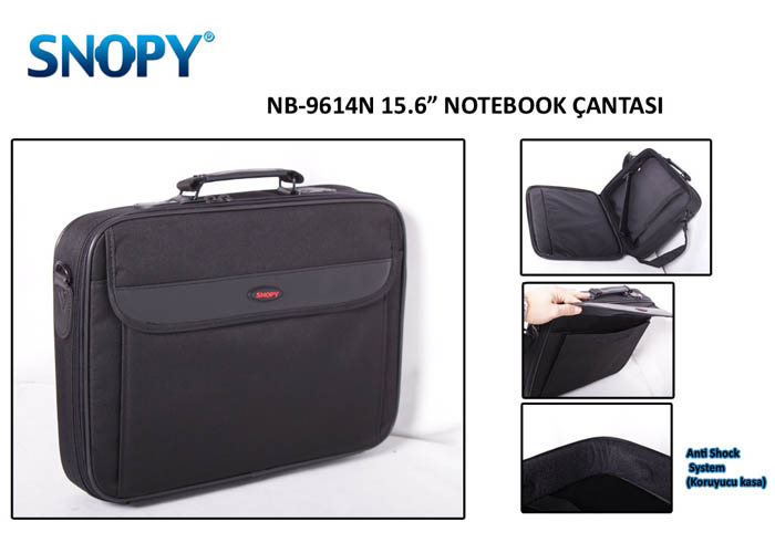 Snopy Nb-9614n-15 15.6 Siyah Bilgisayar Notebook Çantası