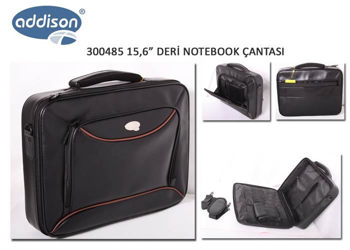 Addison 300485 15.6 Siyah Bilgisayar Notebook Çantası
