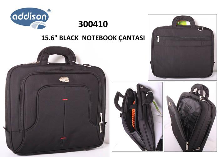 Addison 300410 15.6 Siyah Bilgisayar Notebook Çantası