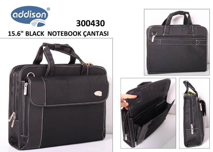 Addison 300430 15.6 Siyah Bilgisayar Notebook Çantası