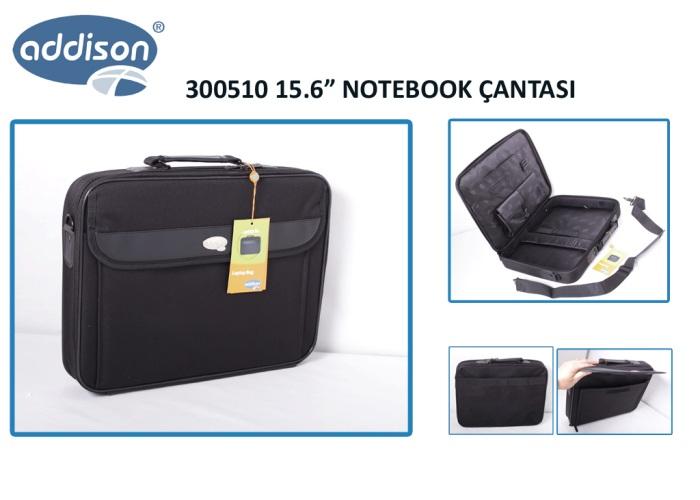 Addison 300510 15.6 Siyah Bilgisayar Notebook Çantası