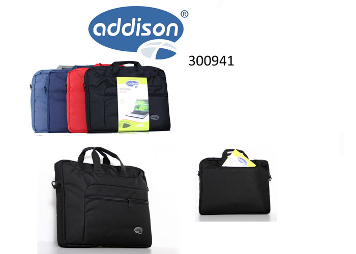 Addison 300941 15.6 Siyah Bilgisayar Notebook Çantası