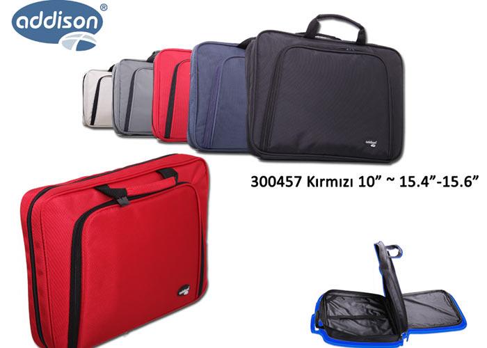 Addison 300457 10 Kırmızı Bilgisayar Netbook Çantası
