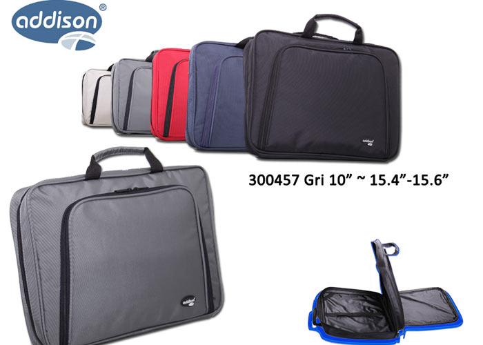 Addison 300457 15.6 Gri Bilgisayar Notebook Çantası