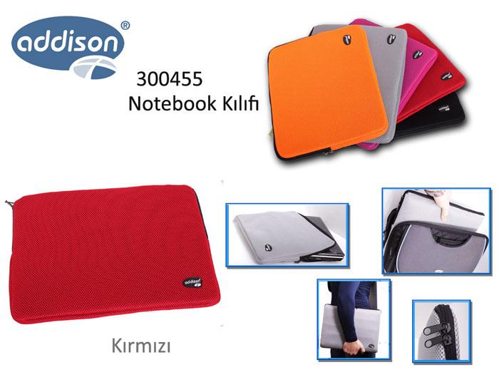 Addison 300455 13.3 Kırmızı Kılıf Bilgisayar Notebook Çantası