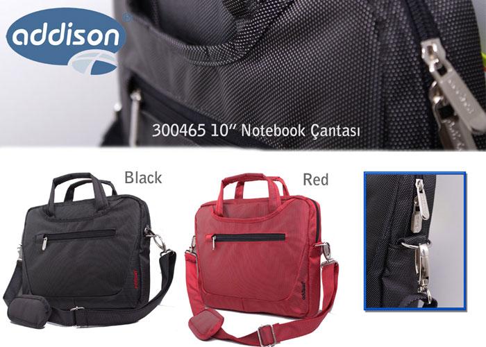 Addison 300465 15.6 Siyah Bilgisayar Notebook Çantası