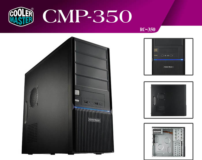 Cooler Master RC-350-KKP500-GP CMP350+500W Kasa