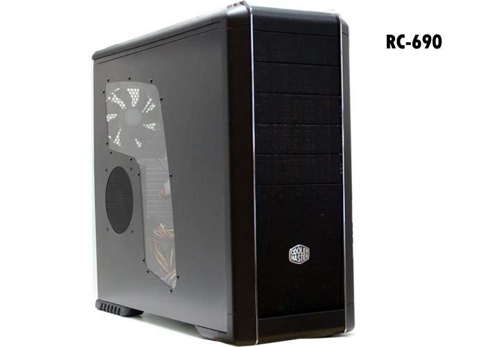 Cooler Master RC-690- KWP2-GP 460W PFC Pencereli Kasa