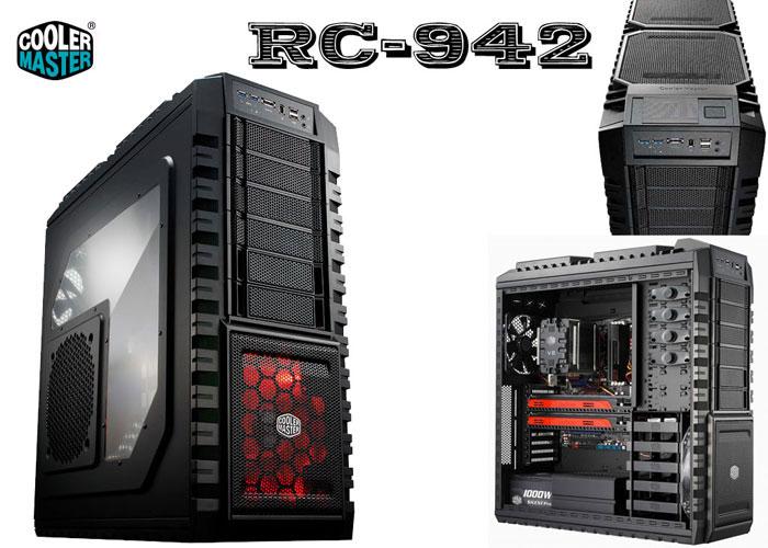 Cooler Master RC-942-KKN1 Siyah Haf X Kasa