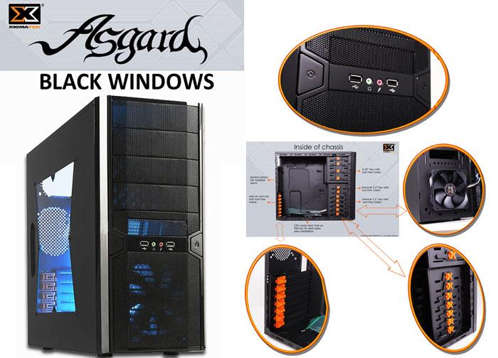 Xigmatek CPC-T45UB-T42 ASGARD-W 400W Window Kasa