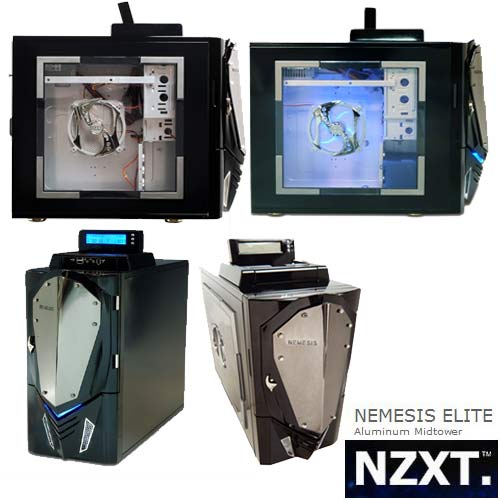Nzxt 80-NANLD-7RB NEMESIS Siyah Kasa