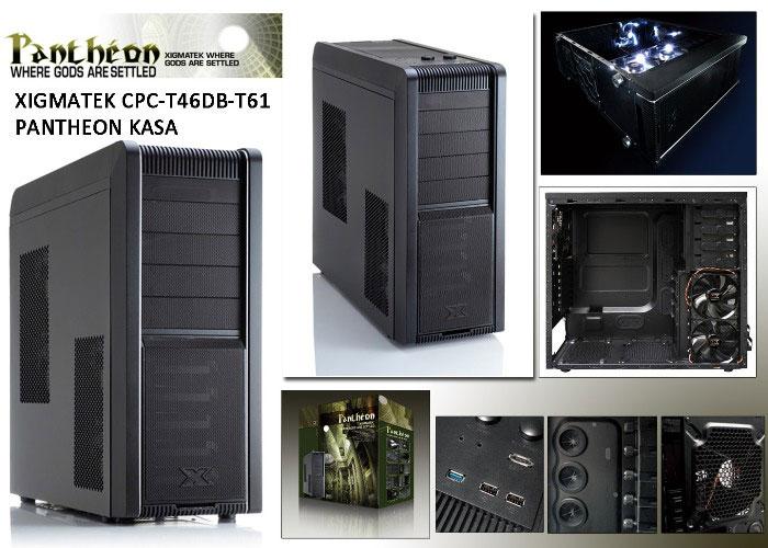 Xigmatek CPC-T46DB-T61 PANTHEON/B VC603 Kasa
