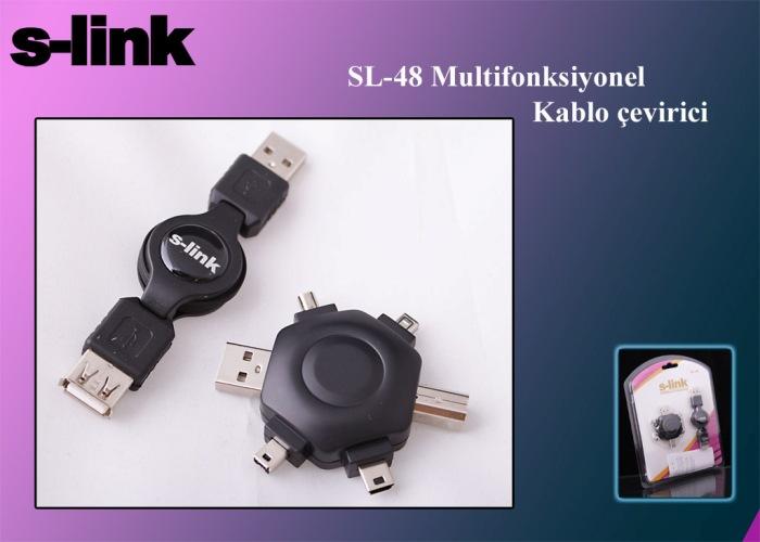 S-link SL-48 Usb UsbBM+UsbAM+4P+1394+5P Set