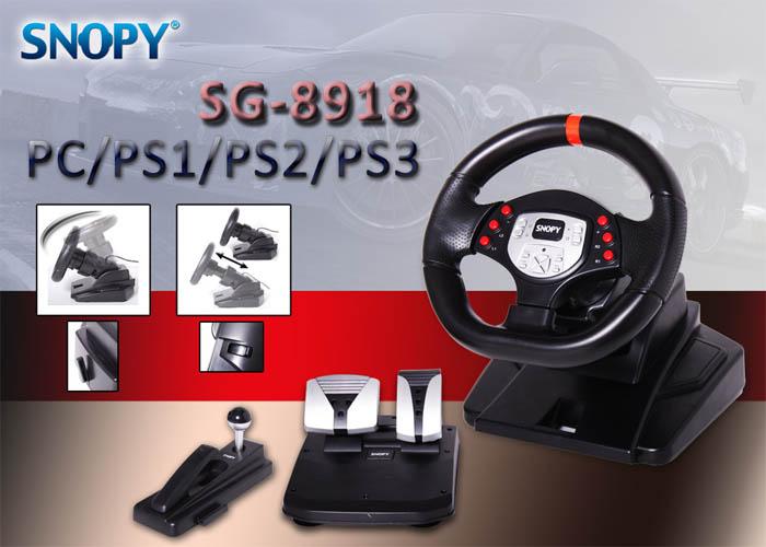 Snopy SG-8918 PC/PS2/PS3 Titreşimli Direksiyon