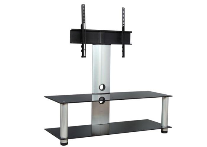 Everest EV-102-120G 120cm Silver Lcd Tv Stand