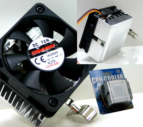 Samuray CS-P3-020 P3 Bilisterli Lüks CPU Fan
