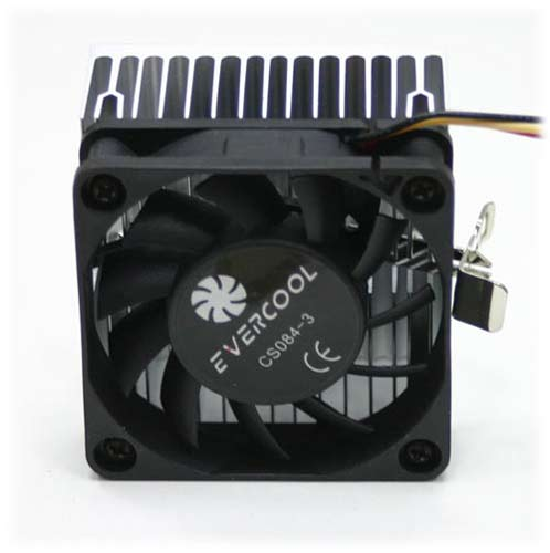 Evercool CS-084-3 P3 Lüks CPU Fan Soğutuculu