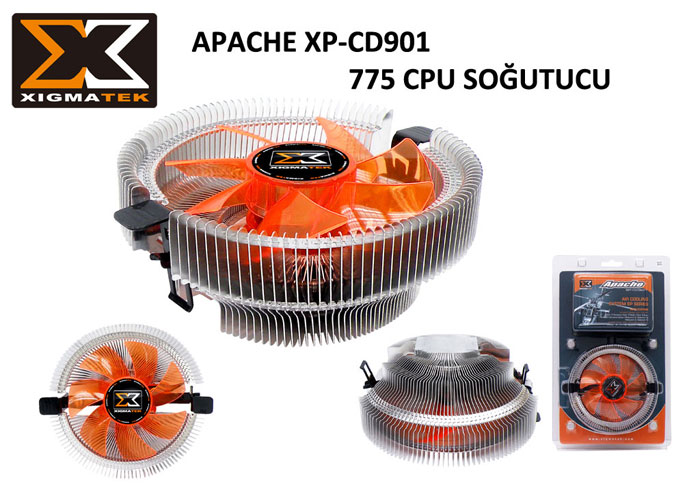 Xigmatek EP-CD901 APACHE 775 CPU Fan
