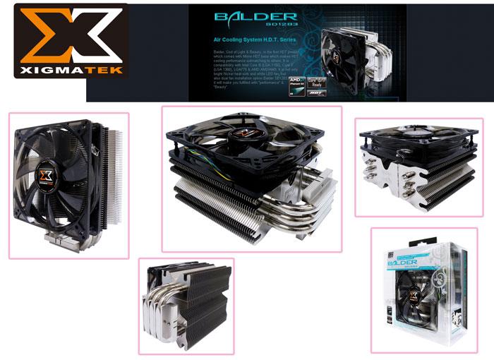 Xigmatek SD1283 İntel/Amd Tümü BALDER CPU Fan