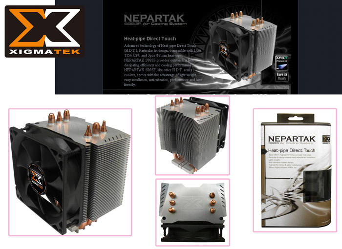 Xigmatek S983F İntel/Amd Tümü NEPARTAK CPU Fan