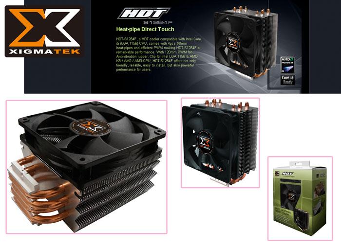 Xigmatek HDT-S1284F İntel/Amd Tümü CPU Fan