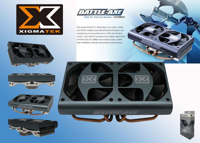 Xigmatek VD964 Battle-Axe Ekran Kartı Fanı