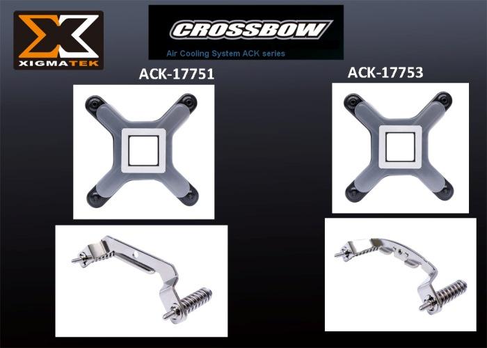 Xigmatek ACK-I7751 Metal Fan Klipsi